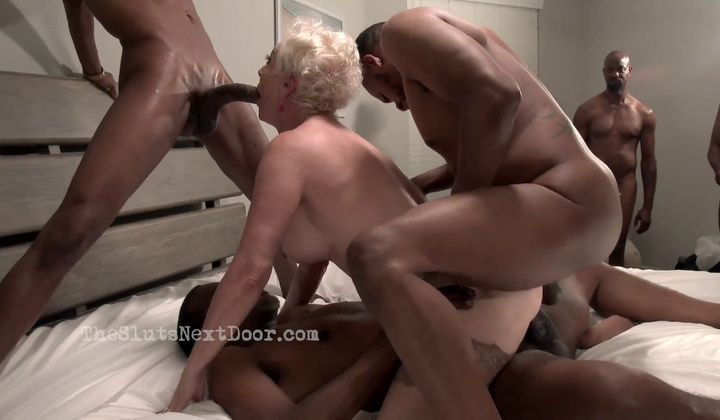 Interracial - Granny Beauty's Rump And Caboose Ir Gb (dp)