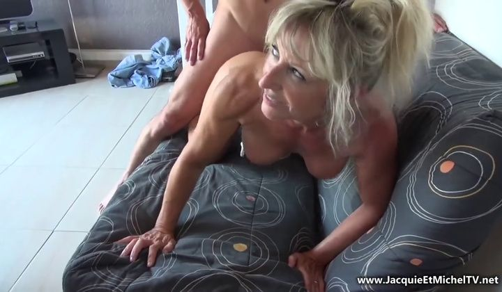 Mature - Amateur French Anal Cougar